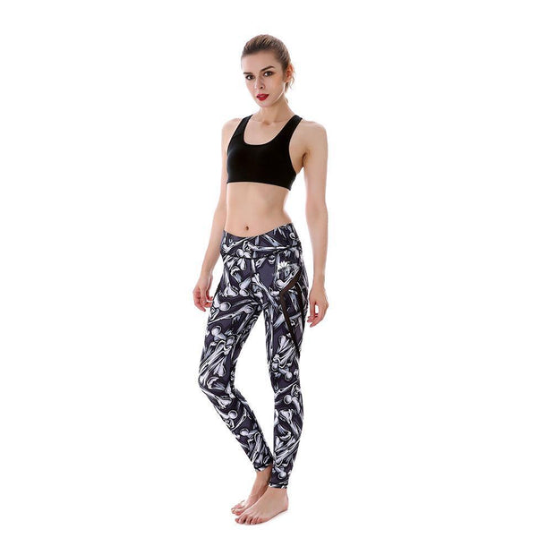 FALLING BONES MAXPERFORMANCE LEGGINGS