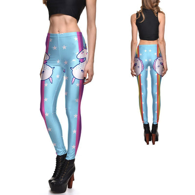 RAINBOW UNICORN LEGGINGS