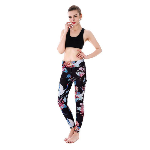 FLORAL BIRD MAXPERFORMANCE LEGGINGS