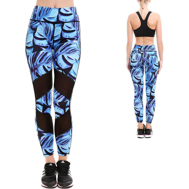 ORCHID BLUE MAXFLO LEGGINGS