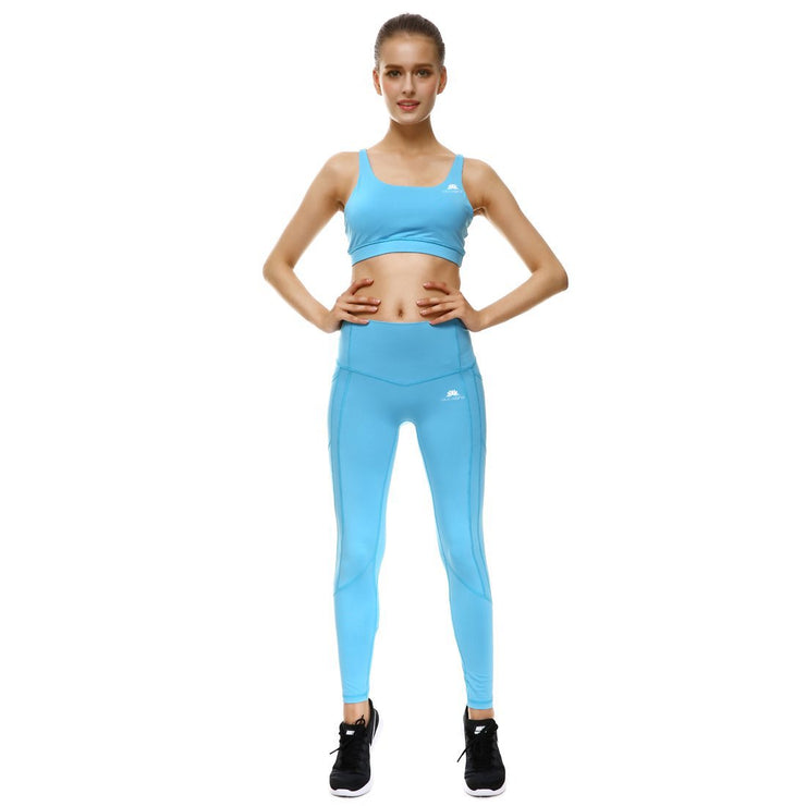BABY BLUE PERFORMX LEGGINGS