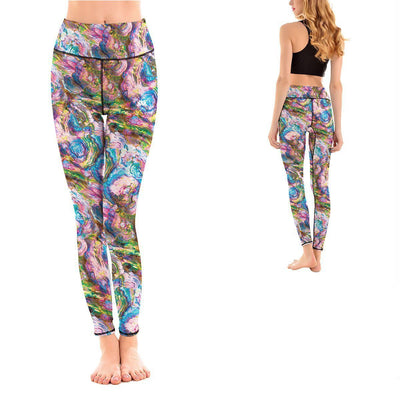 LOTUSX™ MARBLE LEGGINGS