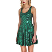 MERMAID SKATER DRESS