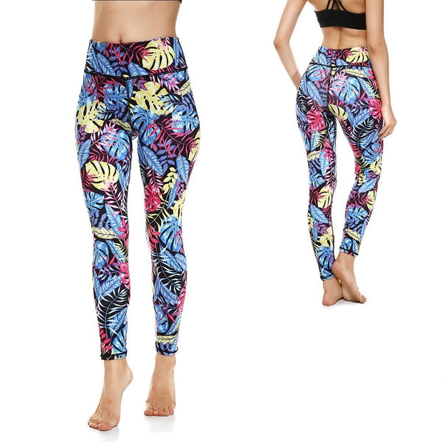 LOTUSX™ MIDNIGHT PARADISE LEGGINGS