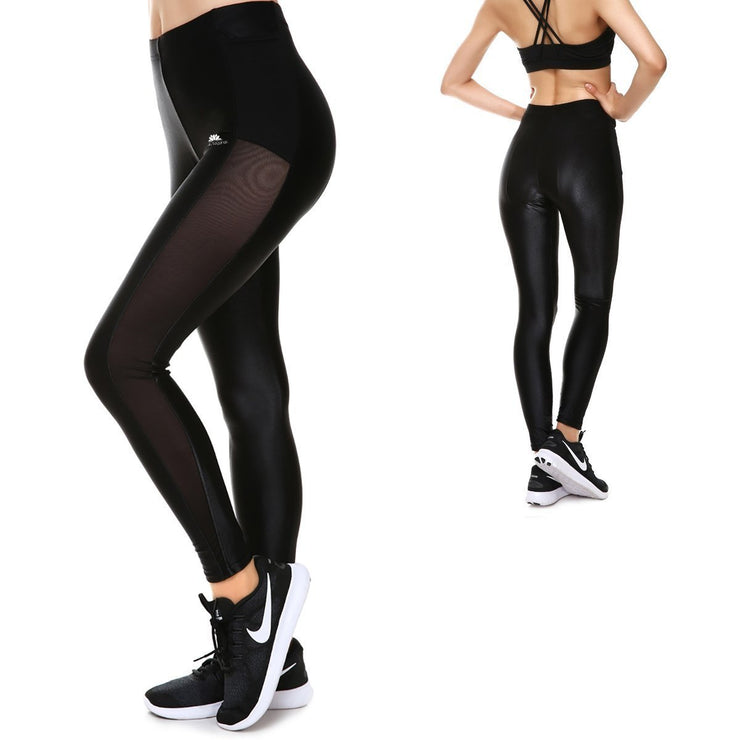 BLACKOUT REVEAL MESH LEGGINGS