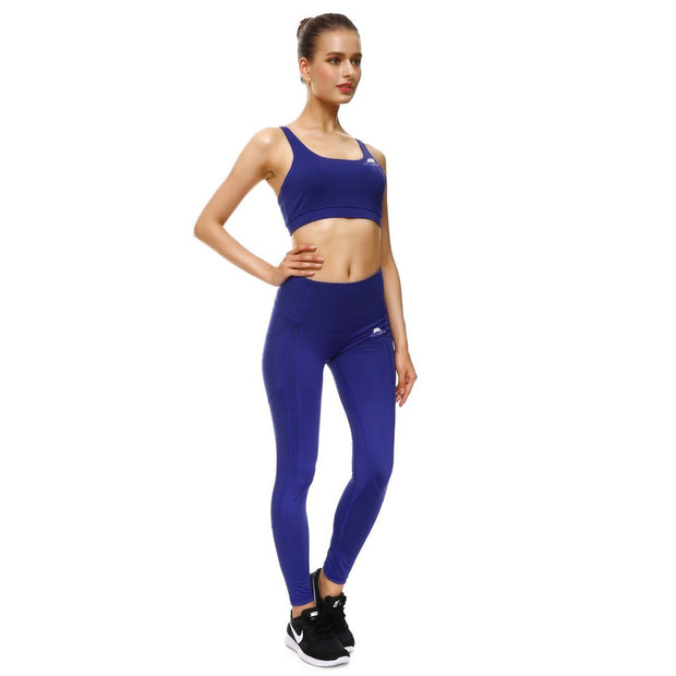 BOLD BLUE PERFORMX LEGGINGS