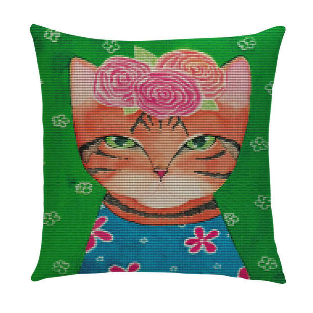 Purrty Cats Pillow Cover - Lotus Leggings