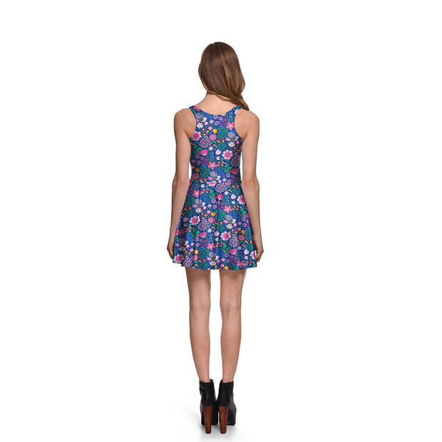 Springtime Skater Dress - Lotus Leggings