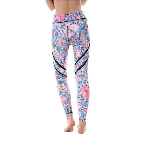 Pastel Life MaxPerformance Leggings - Lotus Leggings