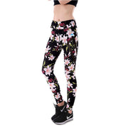 Pink Floral MaxPerformance Leggings - Lotus Leggings