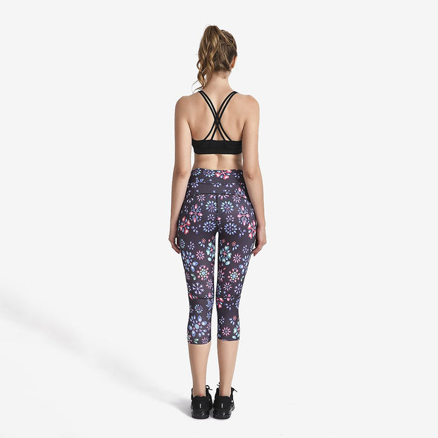 Gemstone MaxFit Capri - Lotus Leggings