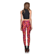 Stop and Smell the Roses Leggings - Lotus Leggings