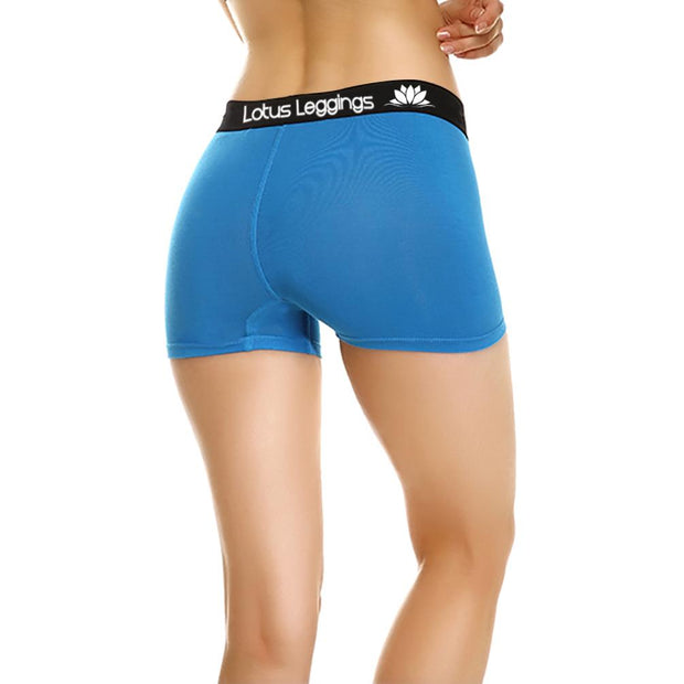 LOTUS LEGGINGS LOTUS BLUE  BOYSHORTS