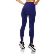 Bold Blue PerformX Leggings - Lotus Leggings