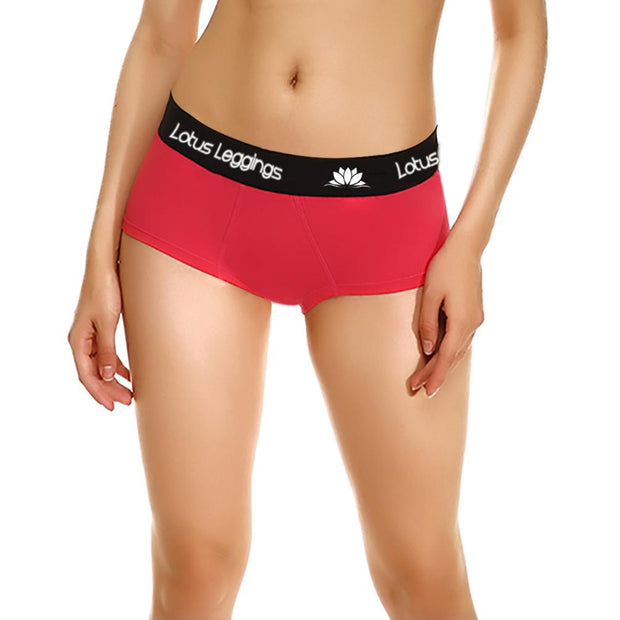 LOTUS LEGGINGS ROSY RED WOMEN'S BRIEFS