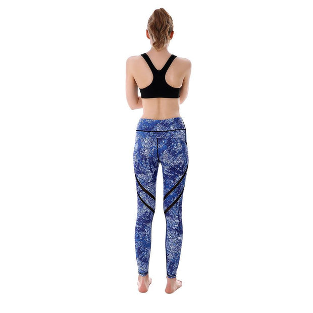 Thumbprint MaxPerformance Leggings - Lotus Leggings
