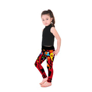 Spooky Ghosts Kid's Leggings - Lotus Leggings
