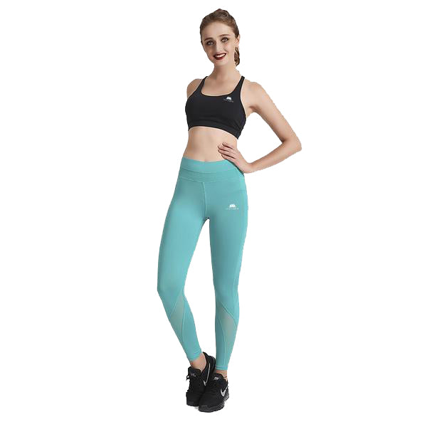 TEAL MAXSWIPE LEGGINGS