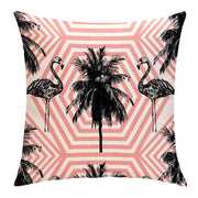 PRETTY FLAMINGO PILLOW COVER