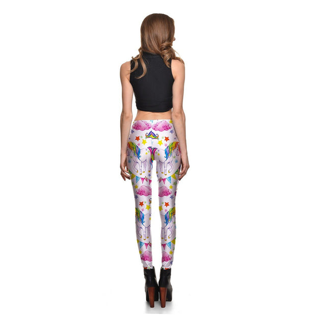Unicorn in the Sky Leggings - Lotus Leggings