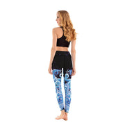 LotusX™ Blue Octopus Leggings - Lotus Leggings
