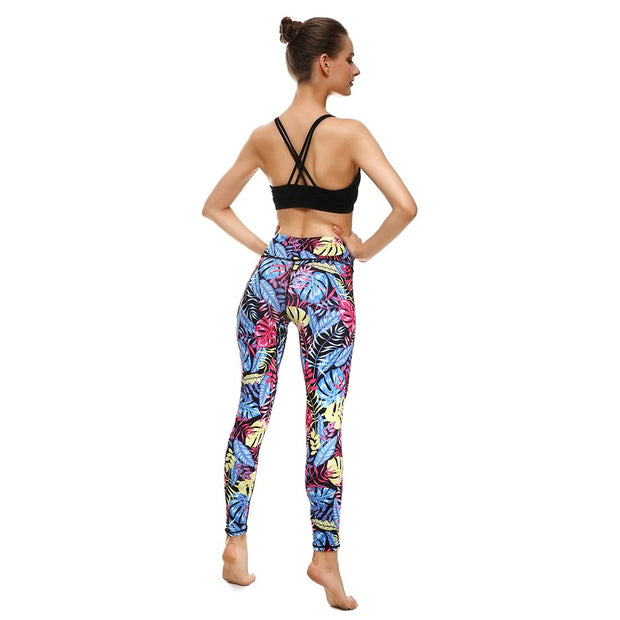 LotusX™ Midnight Paradise Leggings - Lotus Leggings