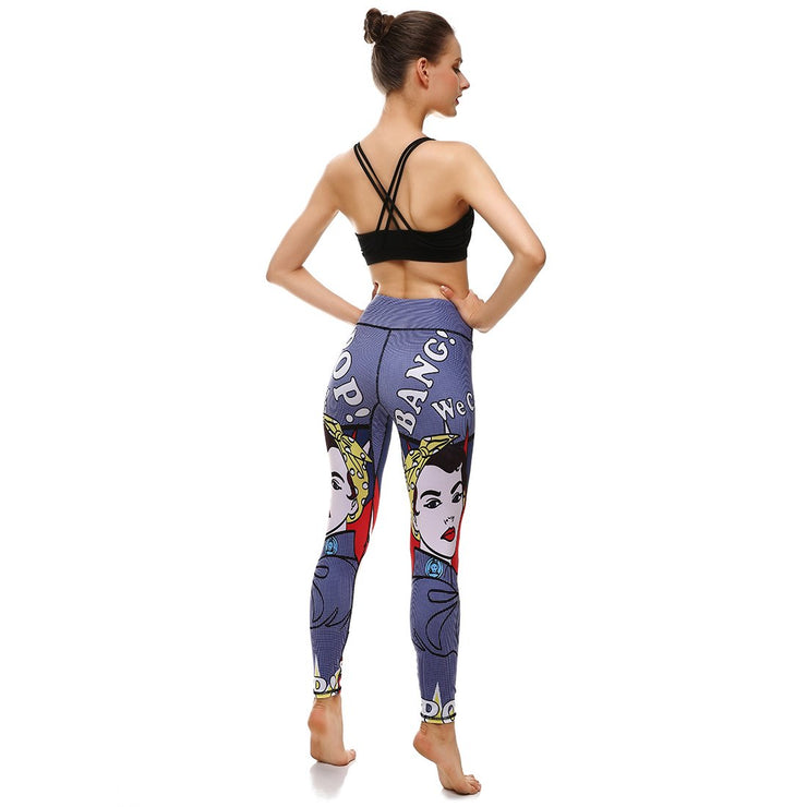 LotusX™ We Can Do It Leggings - Lotus Leggings