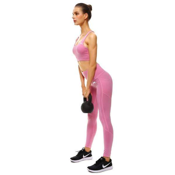 PRETTY IN PINK PERFORMX LEGGINGS