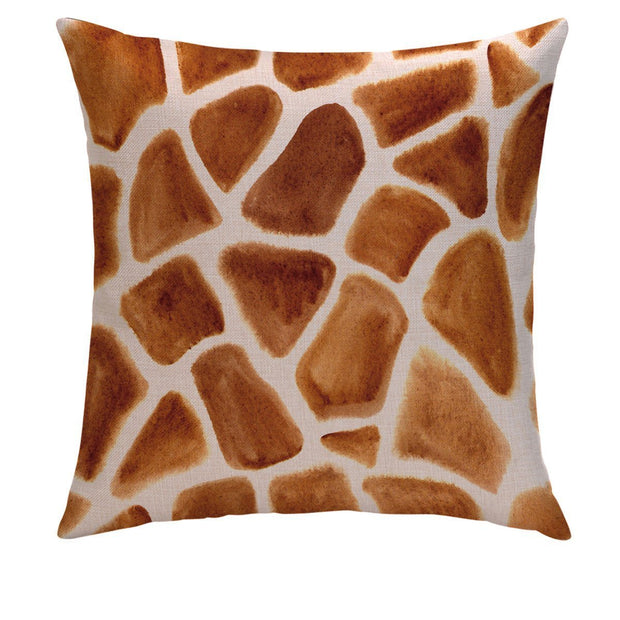 Peek-A-Giraffe Pillow Cover - Lotus Leggings