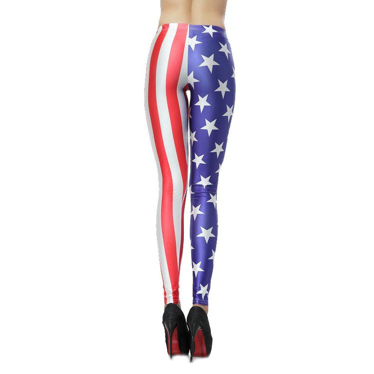 AMERICAN FLAG LEGGINGS - Lotus Leggings