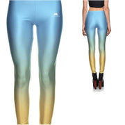 BLUE FADE LEGGINGS
