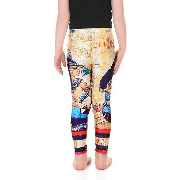 Kid's Cleopatra Leggings - Lotus Leggings