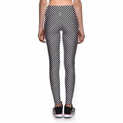 CRAZY STRIPES ATHLETIC LEGGINGS - Lotus Leggings