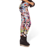 DAY OF THE DEAD LEGGINGS - Lotus Leggings