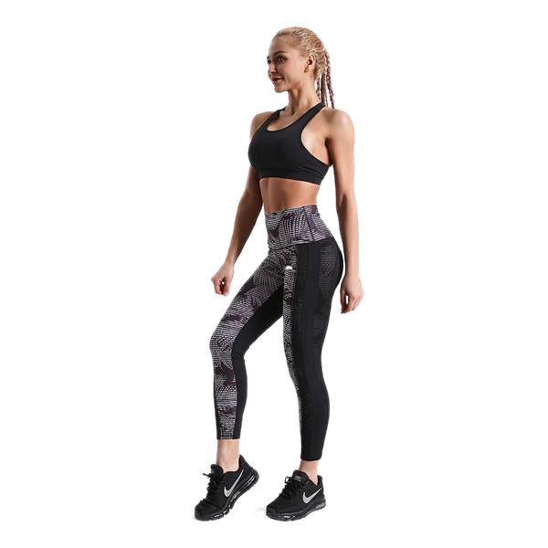 DAWN LIGHTS MESHLAID LEGGINGS
