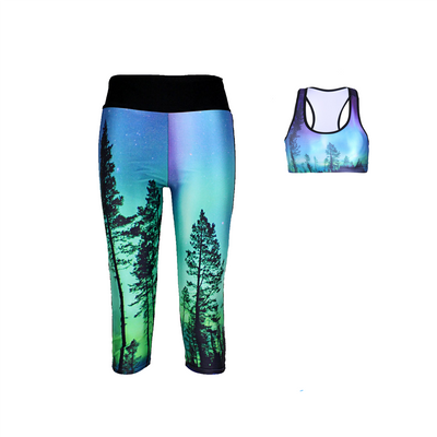 ENCHANTED FOREST ATHLETIC SET - Lotus Leggings