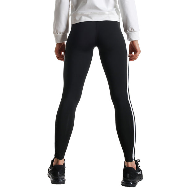 DOUBLE STRIPE FIT COMPRESSION LEGGINGS