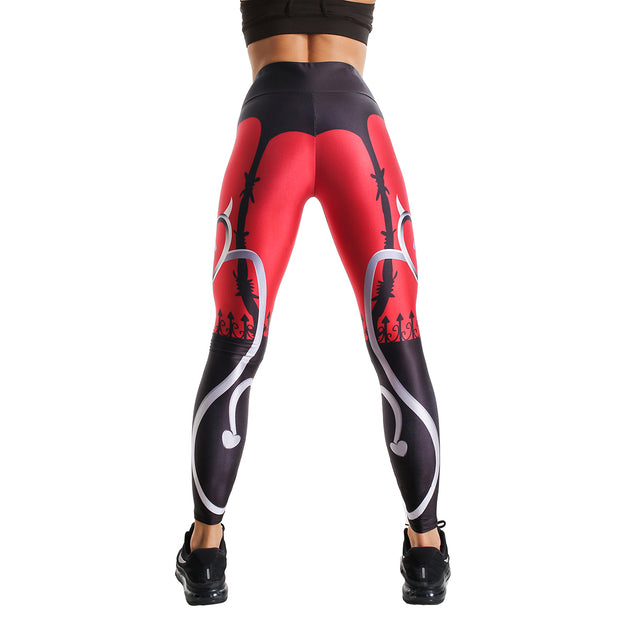 DIABOLIC PRINTED LEGGINGS