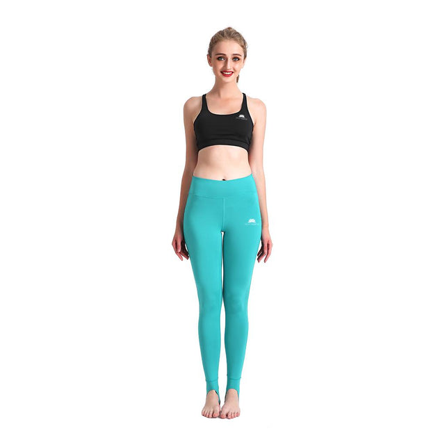 TEAL GRIP MESHX LEGGINGS
