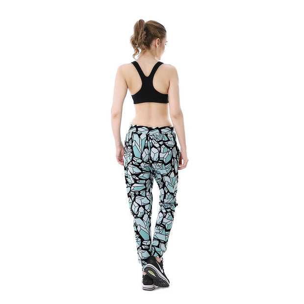 Self Destruct Joggers - Lotus Leggings
