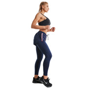 BLUE WARRIOR ZIP SHORTS LEGGINGS COMBO
