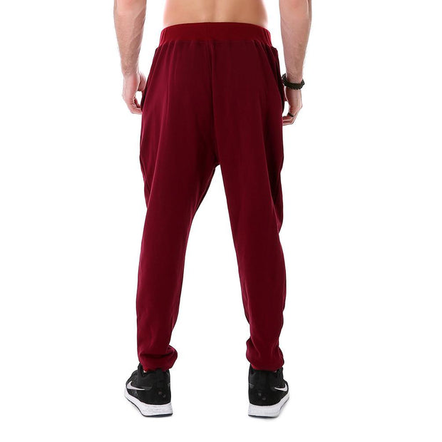 Painted Red Joggers - Lotus Leggings