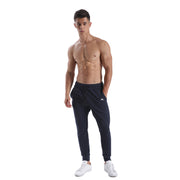 BLUE NAVY WARRIOR MEN'S ATHLETIC PANTS