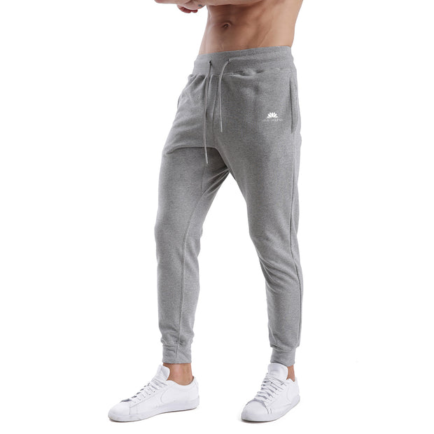 GREY WARRIOR MEN'S ATHLETIC PANTS
