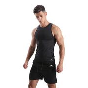 BLACKOUT MEN'S COMPRESSION FIT RUNNING TANK