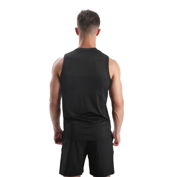 BLACKOUT MEN'S RUNNING TANK & SHORTS