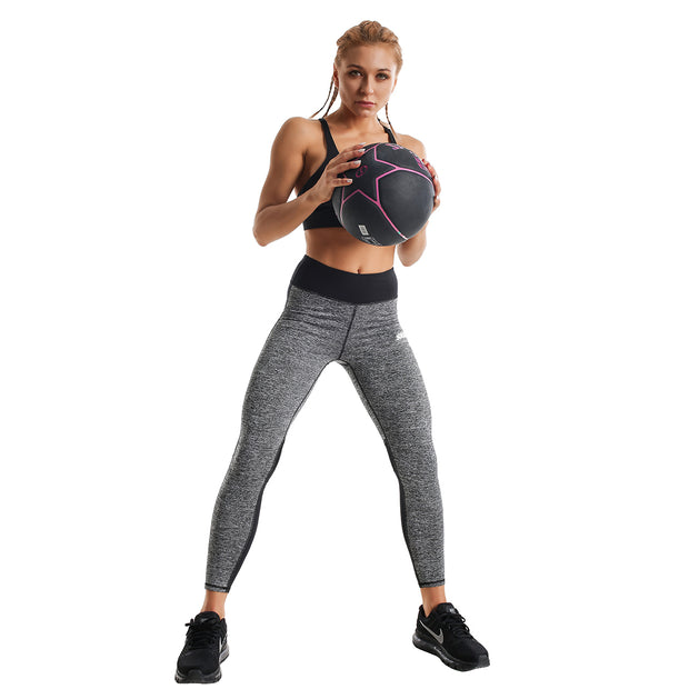 GREY TRAINING LEGGINGS