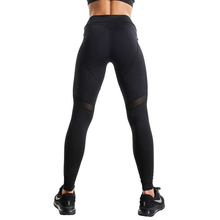 BLACK FIT COMPRESSION LEGGINGS