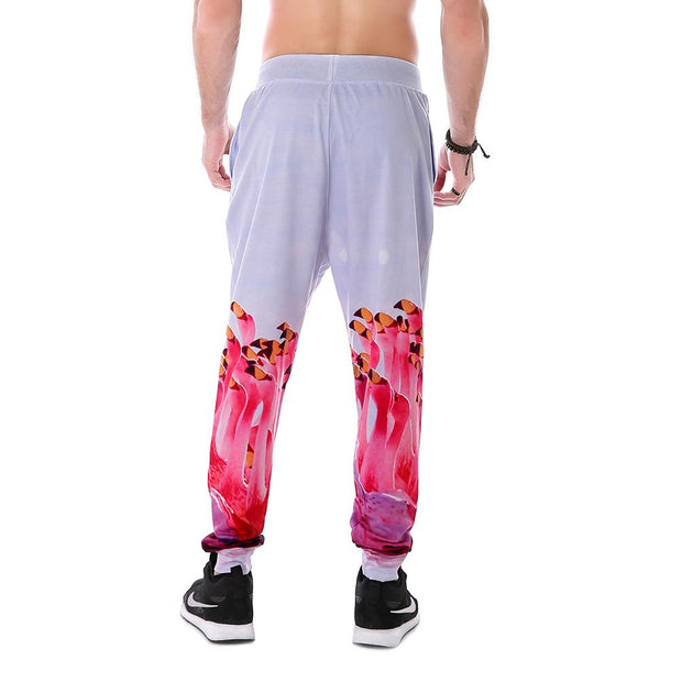 Nonstop Flamingo Joggers - Lotus Leggings