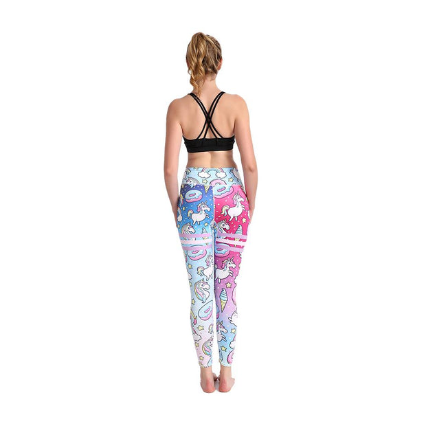 LOTUSX™ Space Unicorn Gradient Leggings - Lotus Leggings